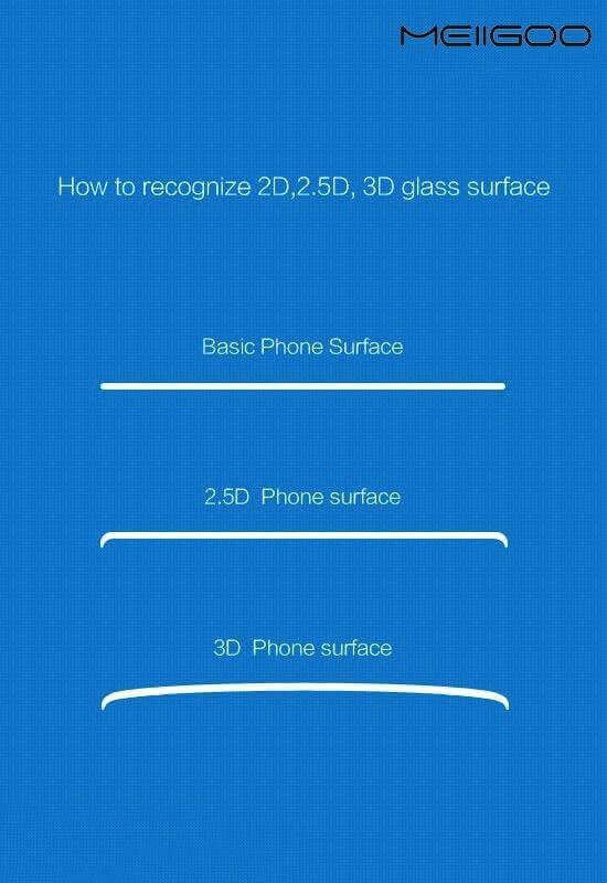 Meiigoo S8+ 3D Curved Screen