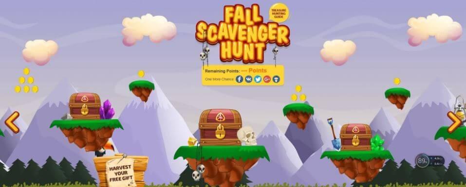 GearBest Super Bumper Harvest Sale Fall Scavenger hunt