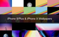 Download iPhone 8, iPhone 8 Plus and iPhone X Stock Wallpapers