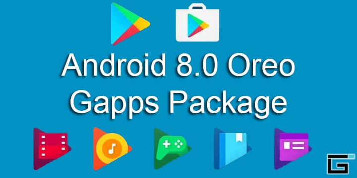 Android 8.0 Oreo Gapps Package