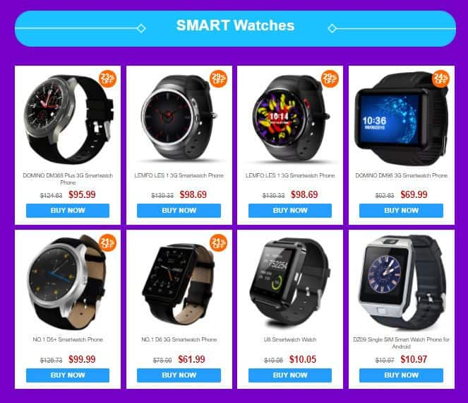 GearBest Mobile Phones Shopping Festival