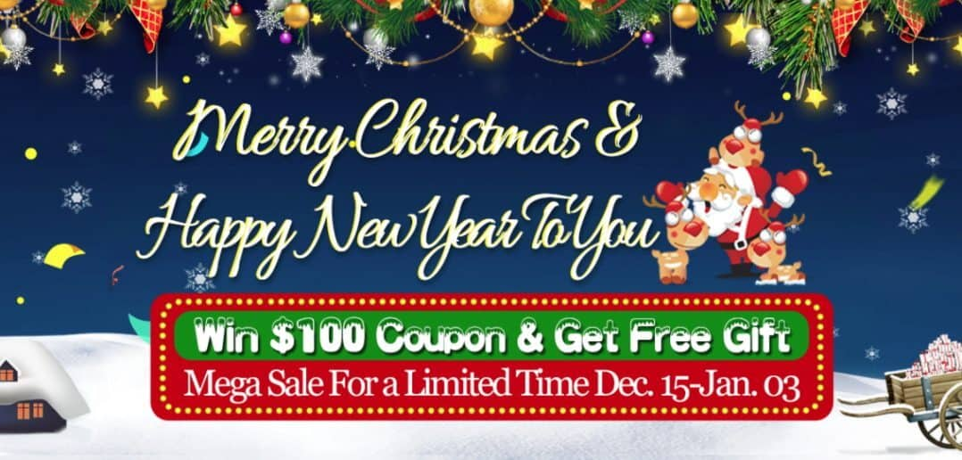 CooliCool Christmas and New year Sale 2017
