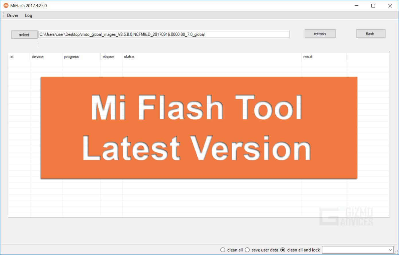 Download Xiaomi Mi Flash Tool 2019 [English] - Latest Version