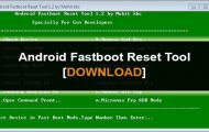Android Fastboot Reset Tool v1.2 Download [Bypass FRP, Unlock Bootloader, Remove MI Account]