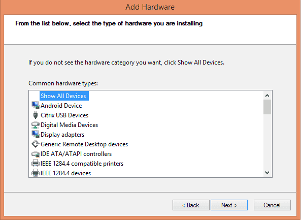 Install MediaTek MT65xx VCOM USB Drivers Windows