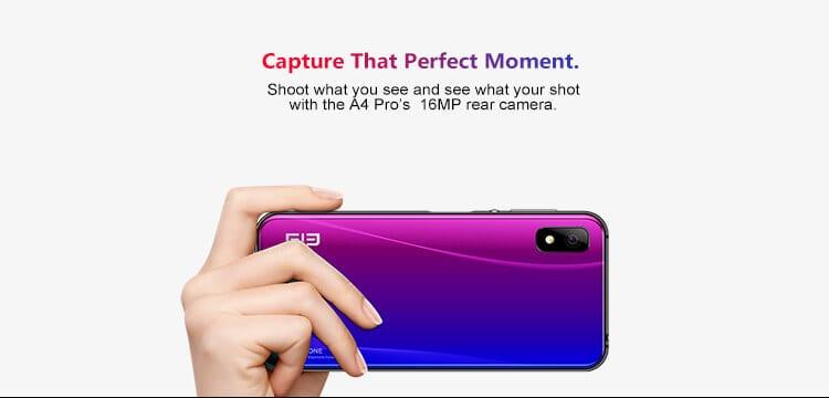 Elephone A4 Pro - Camera