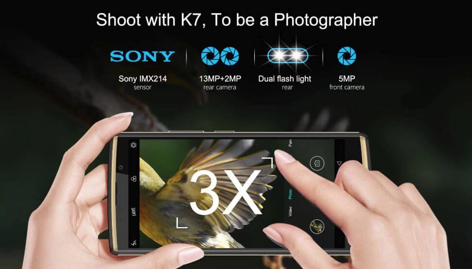 OUKITEL K7 - Camera
