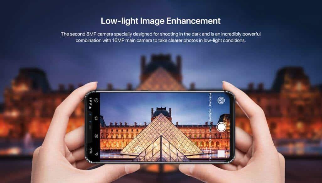 UMIDIGI Z2 Low-Light Image Enhancement