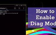 Enable Diag Mode
