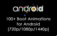 android boot animations
