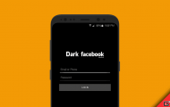 Download Dark Facebook App and Dark Messenger App for Android