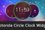 Download Motorola Circle Clock Widget APK for Android