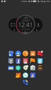 Motorola Clock Widget APK