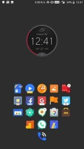 Motorola Circle Clock Widget APK