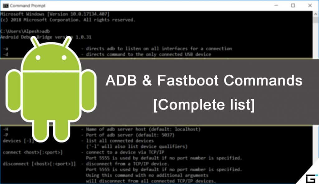 ADB Commands and Fastboot Commands