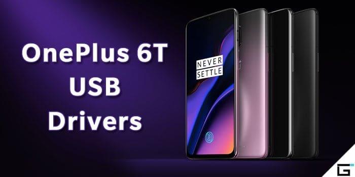 OnePlus 6T USB Drivers