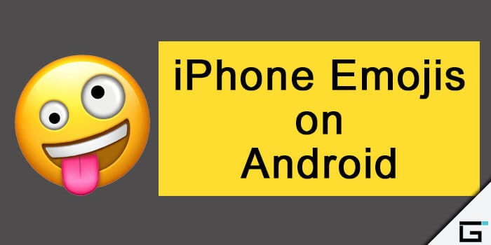 Get iPhone Emojis on Android