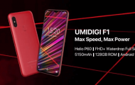 UMIDIGI UMI F1 with drop notch display and 5150mAh battery is on Pre-Sale for $199.99