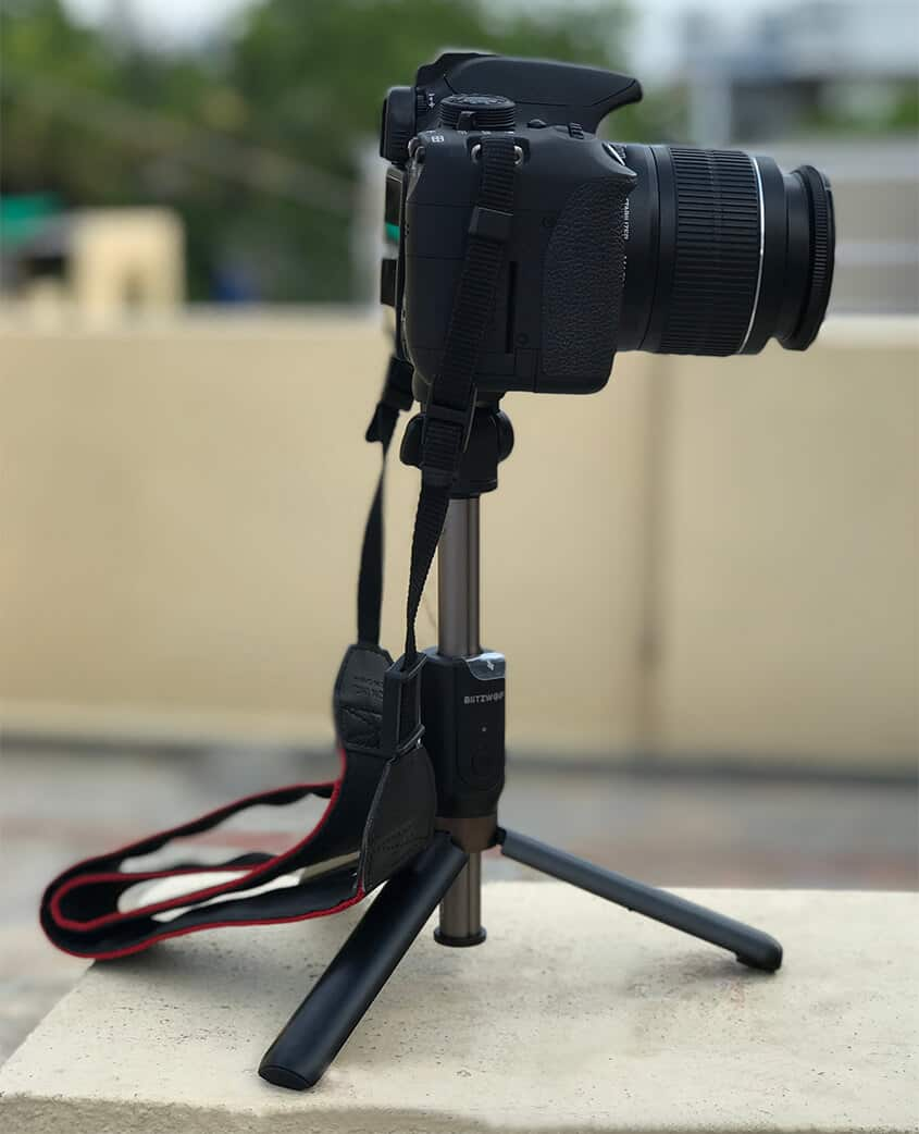 BlitzWold BW-BS3 - DSLR Camera Mounted