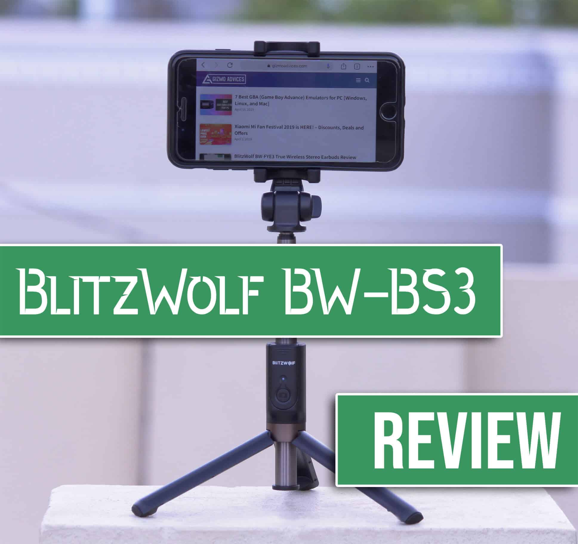 BlitzWold BW-BS3 Selfie Stick Review