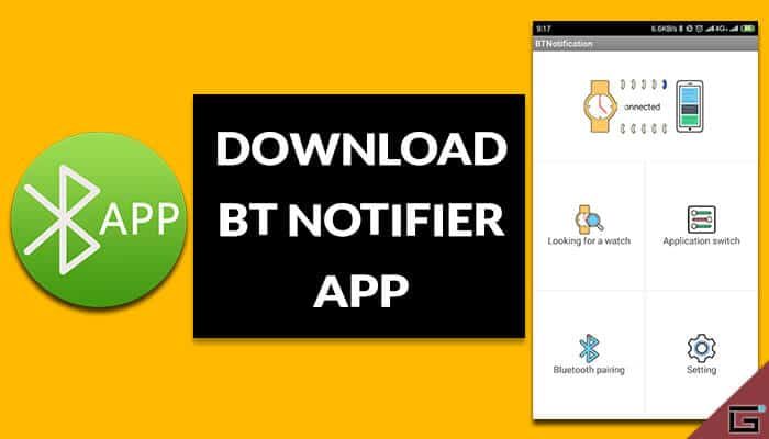 BT Notifier App
