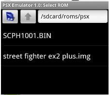 PS3 Emulator - Select ROM