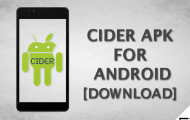 Download Cider APK (Cycada APK) For Android [Latest Version]