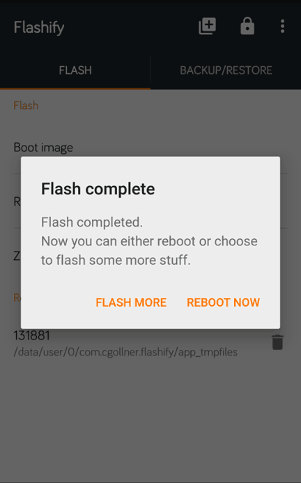 Flashify-Flash Complete