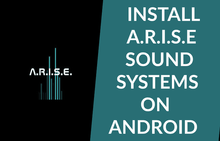Install ARISE Sound Systems Audio Mod on Android