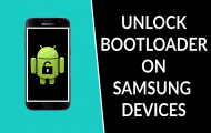 How to unlock bootloader on Samsung Galaxy Phones